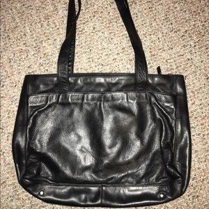 Vintage Perlina Genuine Leather tote bag